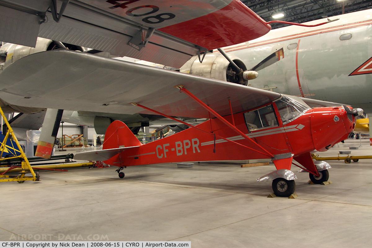 CF-BPR, 1939 Taylorcraft BC-65 C/N 1409, CYRO