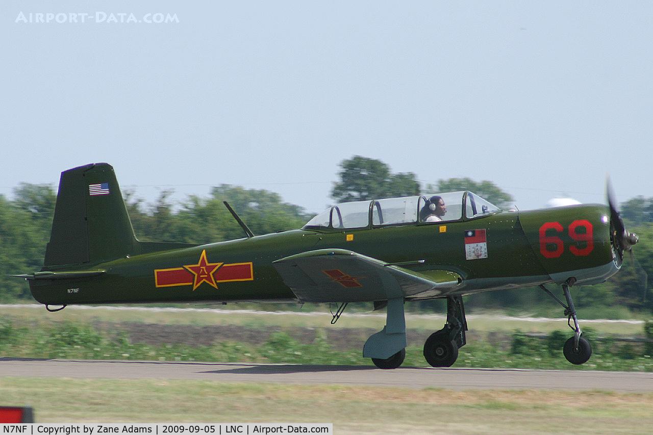 N7NF, 1964 Nanchang CJ-6A C/N 2232028, Warbirds on Parade 2009 - at Lancaster Airport, Texas