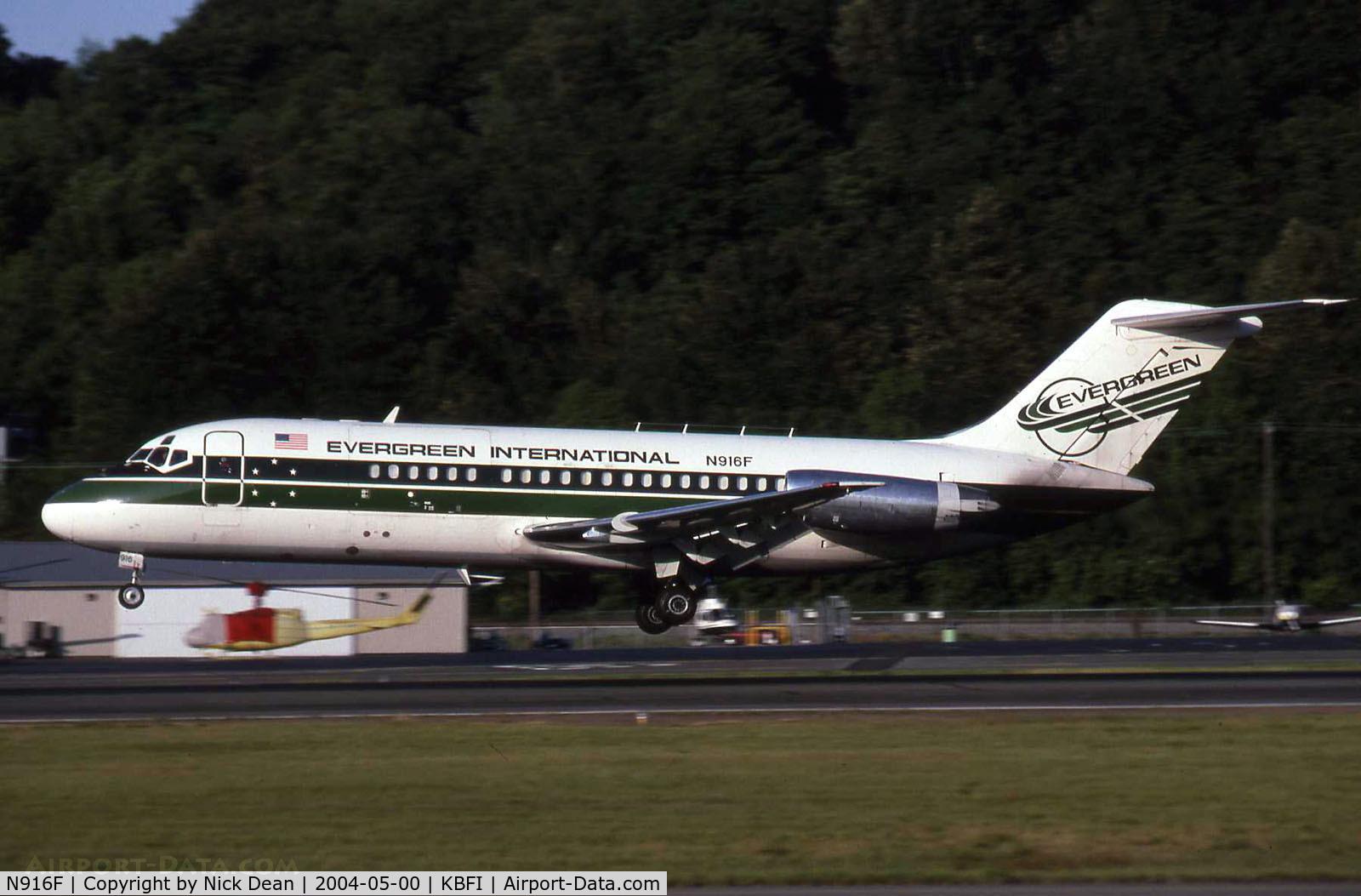 N916F, 1967 Douglas DC-9-15F C/N 47044, KBFI