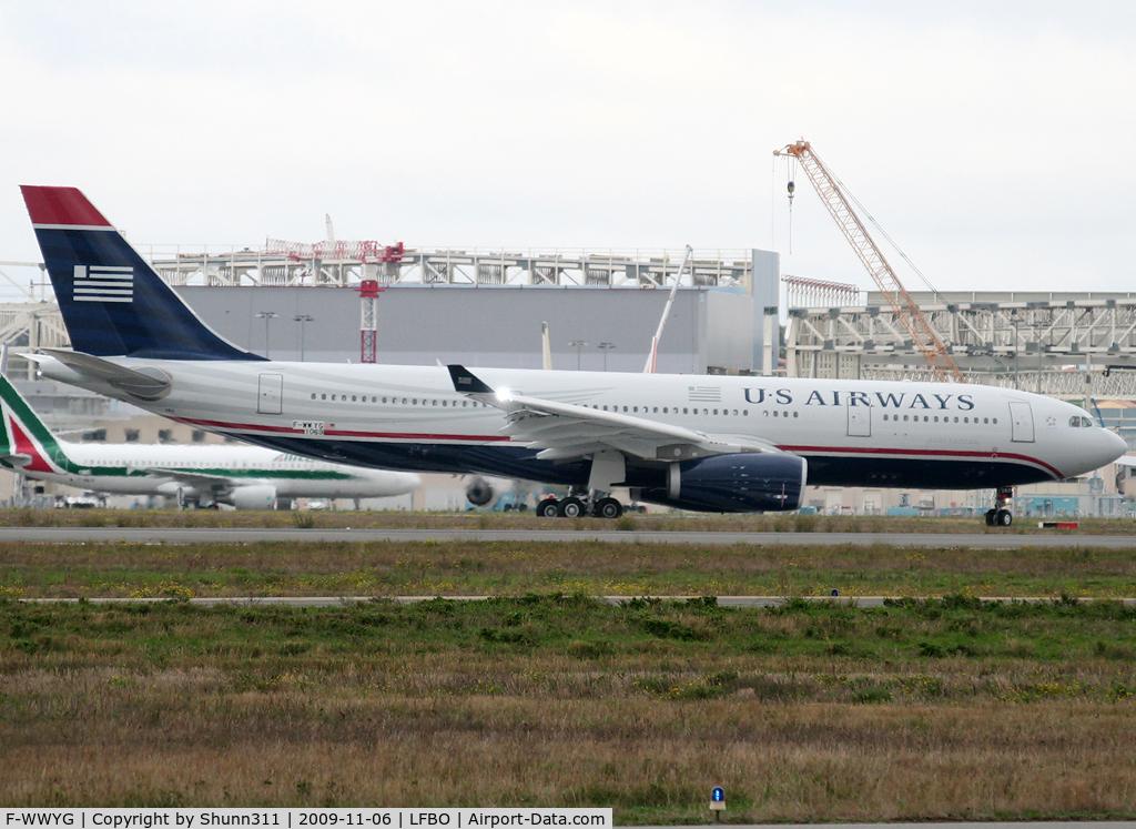 F-WWYG, 2009 Airbus A330-243 C/N 1069, C/n 1069 - To be N282AY