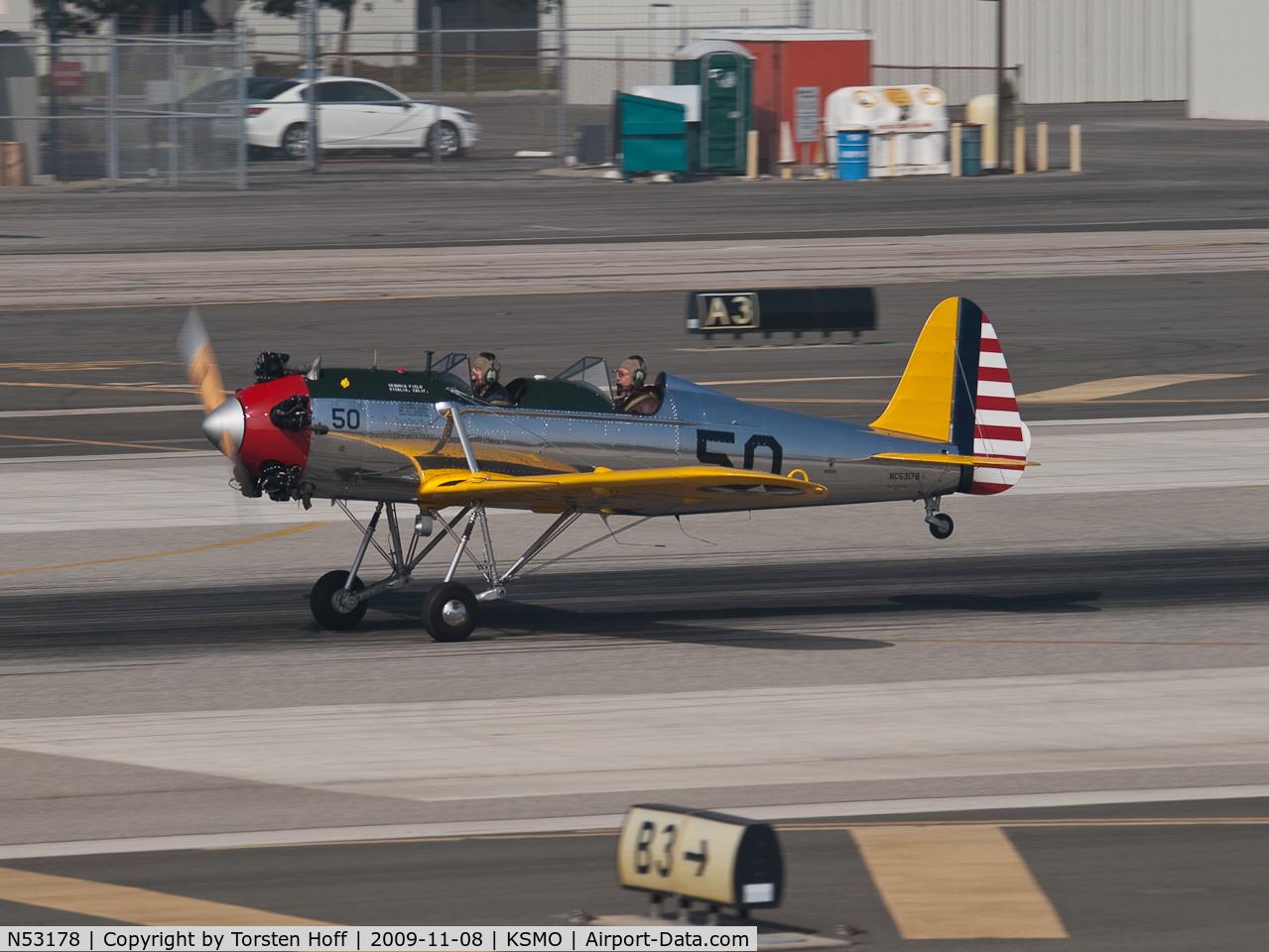 N53178, 1942 Ryan Aeronautical ST3KR C/N 1859, NC53178 departing from RWY 21