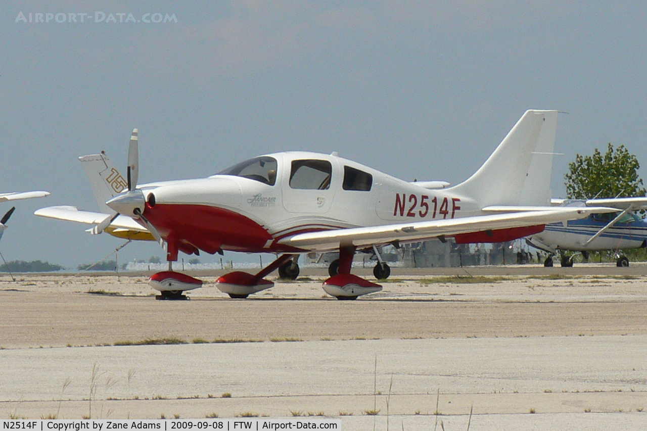 N2514F, 2005 Lancair Company LC41-550FG C/N 41093, At Meacham Field, Ft. Worth, TX