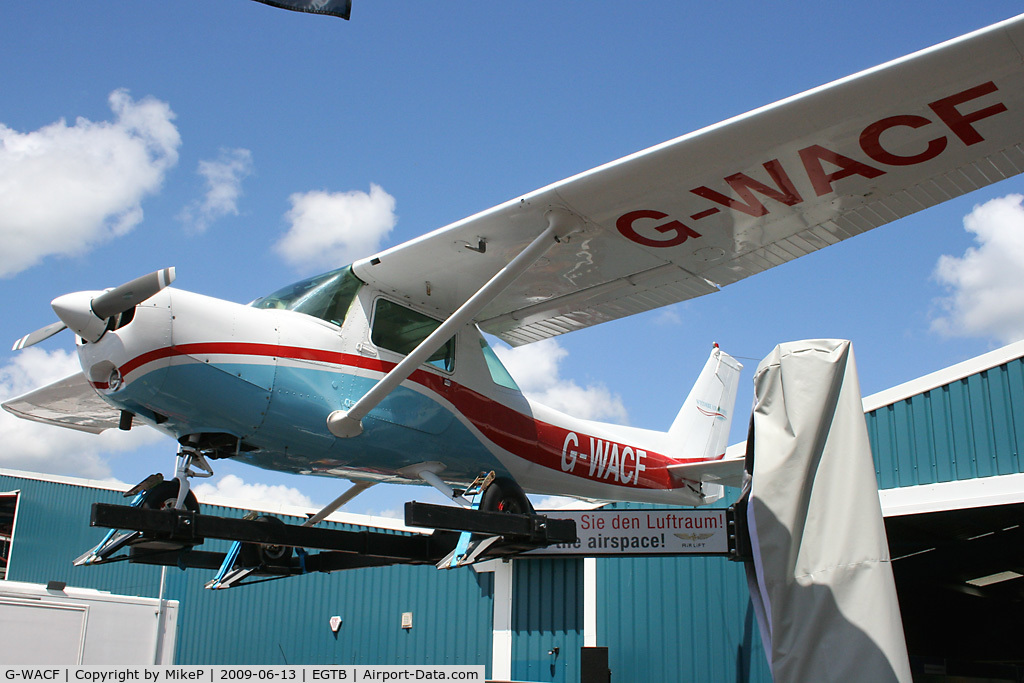 G-WACF, 1980 Cessna 152 C/N 152-84852, Airborne, but not as we know it Jim !