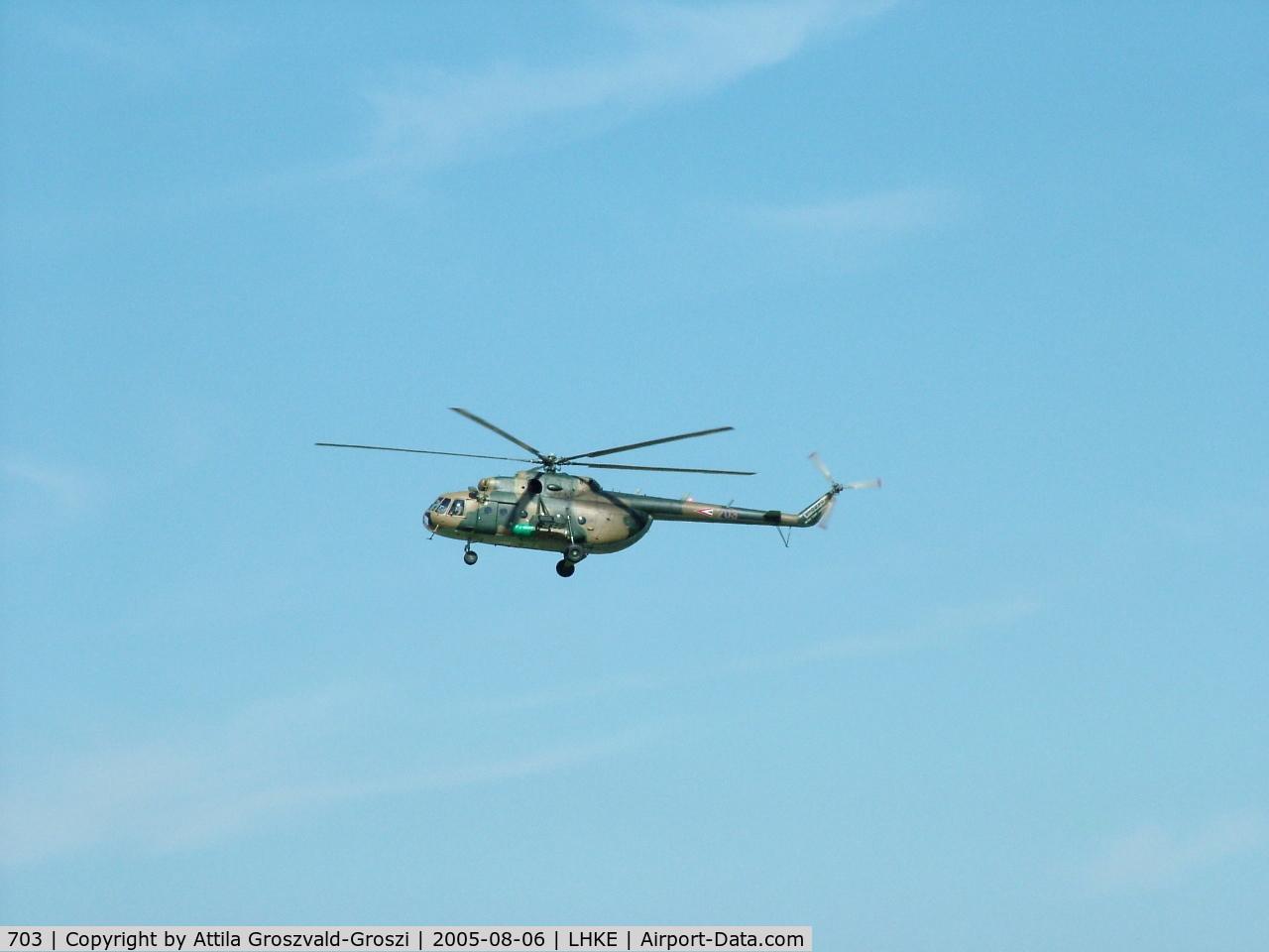 703, 1987 Mil Mi-17N C/N 104M03, Kecskemét, Hungarian Air-Forces Base - Airshow '2005