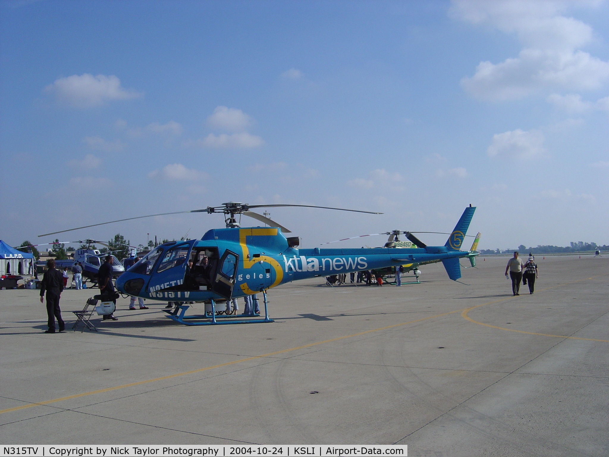 N315TV, 1994 Eurocopter AS-350BA Ecureuil C/N 2822, Wings Wheels & Rotors 04'