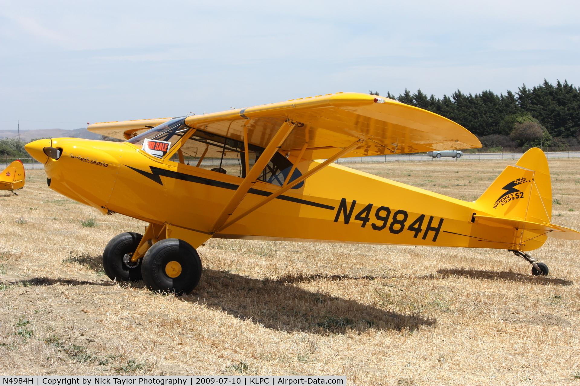 N4984H, 2008 Cub Crafters CC11-100 Sport Cub C/N CC11-00081, Lompoc Piper Cub fly-in 09'