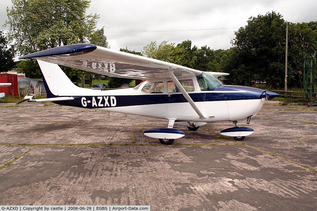 G-AZXD, 1972 Reims F172L Skyhawk C/N 0878, seen @ Shobdon