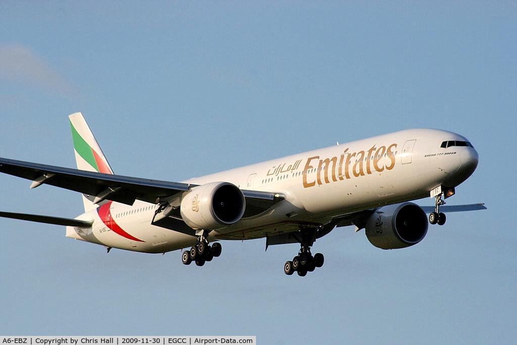 A6-EBZ, 2007 Boeing 777-31H/ER C/N 32713, Emirates