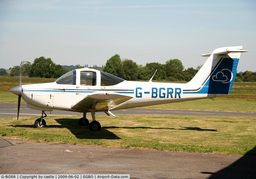 G-BGRR, 1978 Piper PA-38-112 Tomahawk C/N 38-78A0336, seen @ Wolverhampton
