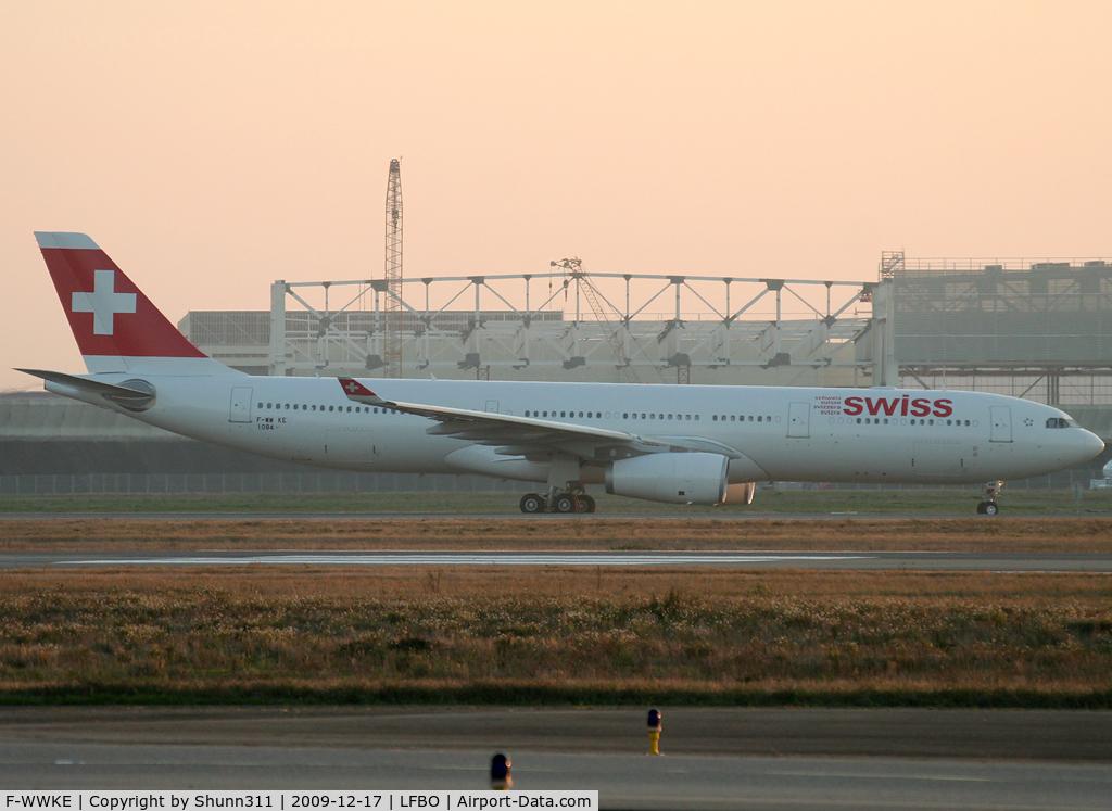 F-WWKE, 2009 Airbus A330-343 C/N 1084, C/n 1084 - To be HB-JHE