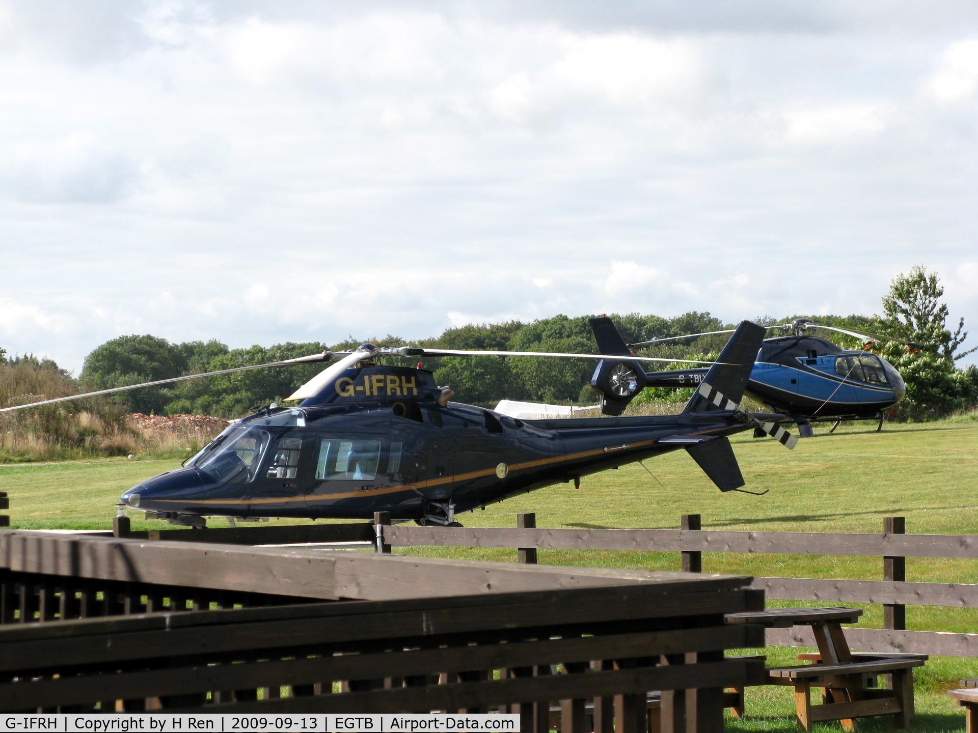 G-IFRH, 1990 Agusta A-109C C/N 7619, Wycome Air Park