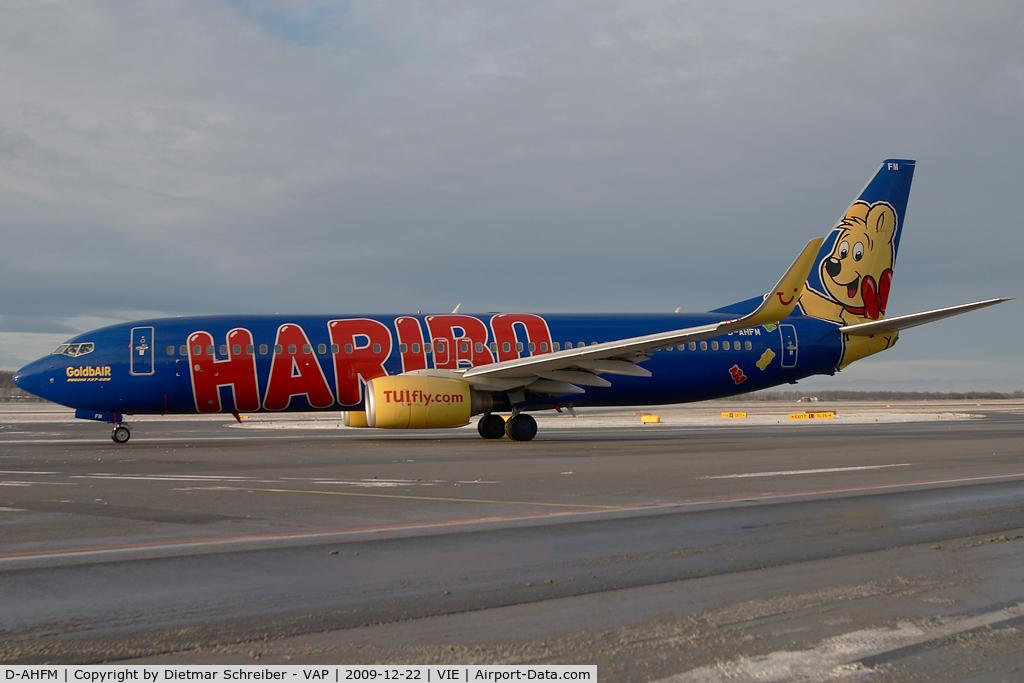 D-AHFM, 2000 Boeing 737-8K5 C/N 27986, TUIfly Boeing 737-800