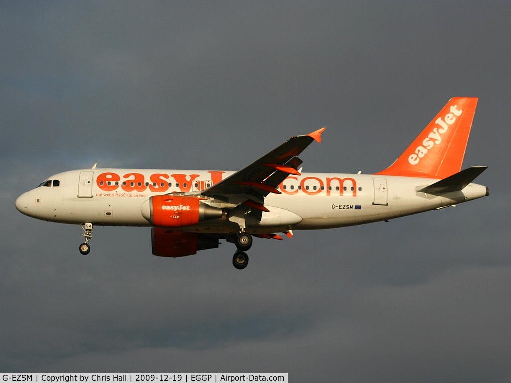 G-EZSM, 2003 Airbus A319-111 C/N 2062, Easyjet