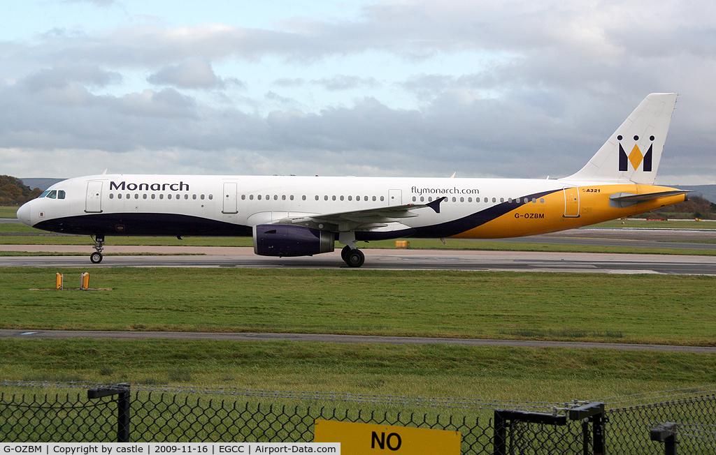 G-OZBM, 1999 Airbus A321-231 C/N 1045, seen @ Manchester