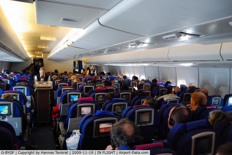 G-BYGF, 1999 Boeing 747-436 C/N 25824, British Airways