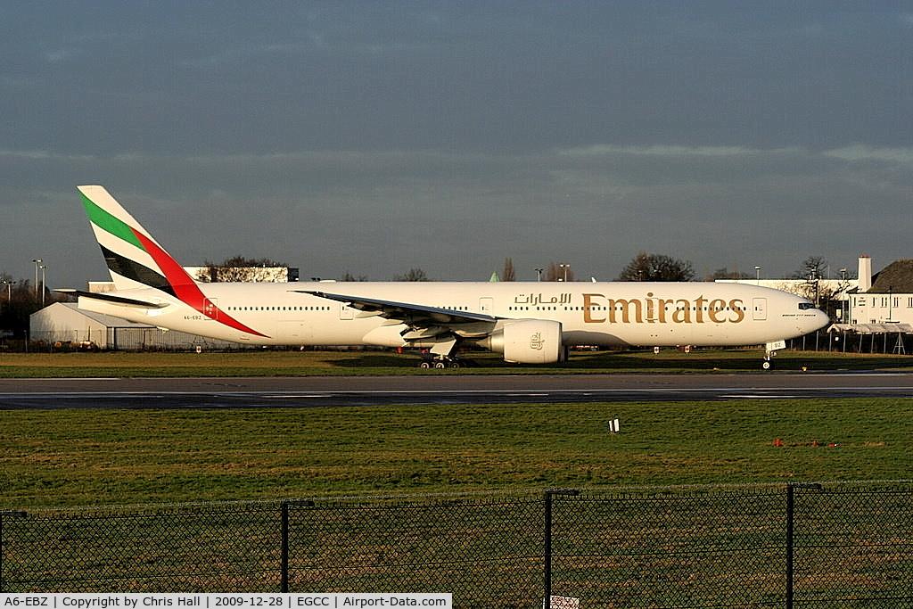 A6-EBZ, 2007 Boeing 777-31H(ER) C/N 32713, Emirates