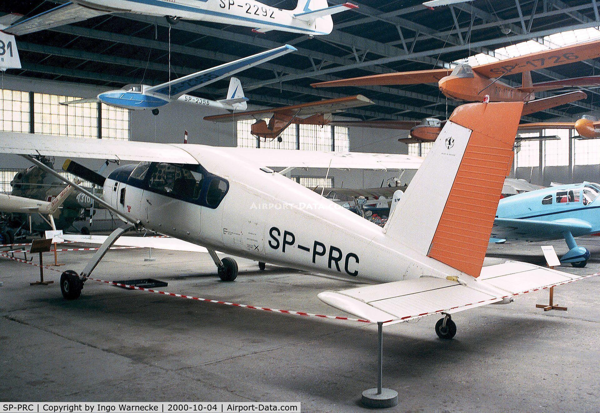 SP-PRC, 1989 PZL-Okecie PZL-105 Flamingo C/N Prototype, PZL-105 Flamingo at the Muzeum Lotnictwa i Astronautyki, Krakow