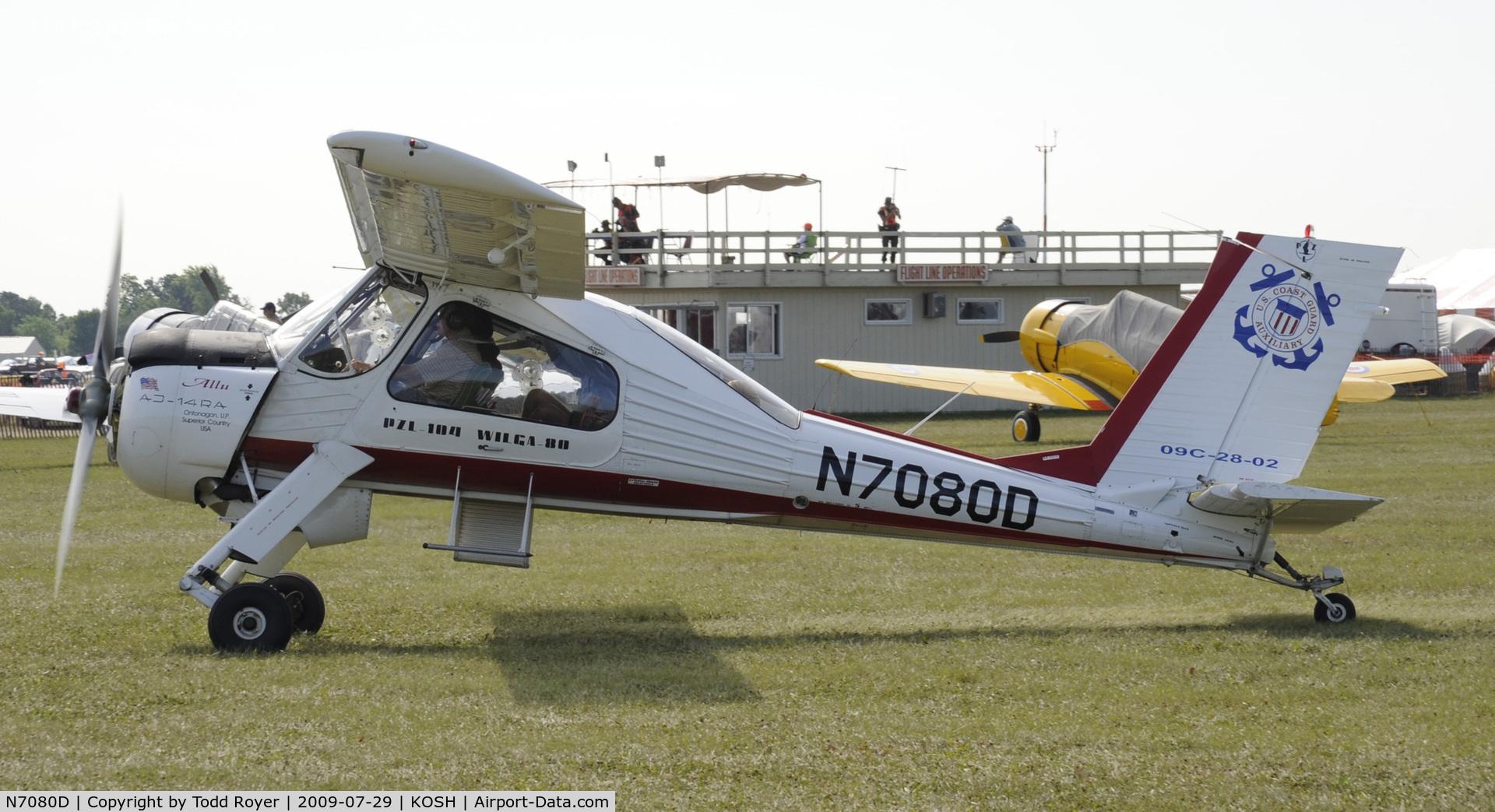 N7080D, 1993 PZL-Okecie PZL-104 Wilga 80 C/N CF21920935, EAA AIRVENTURE 2009