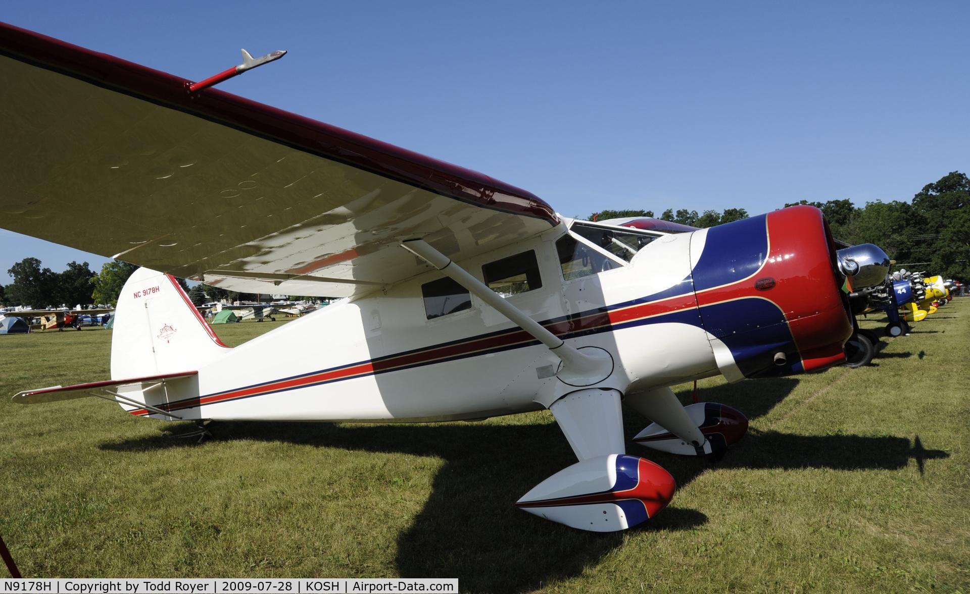 N9178H, 1943 Stinson V77 Reliant C/N 77-186, EAA AIRVENTURE 2009