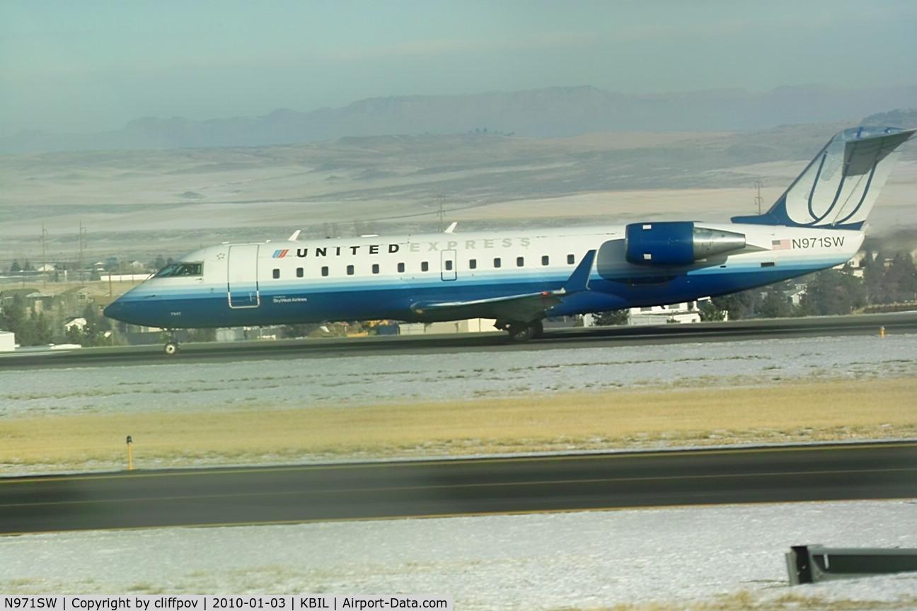 N971SW, 2004 Canadair CL-600-2B19 Regional Jet CRJ-200LR C/N 7947, Bombardier CL-600