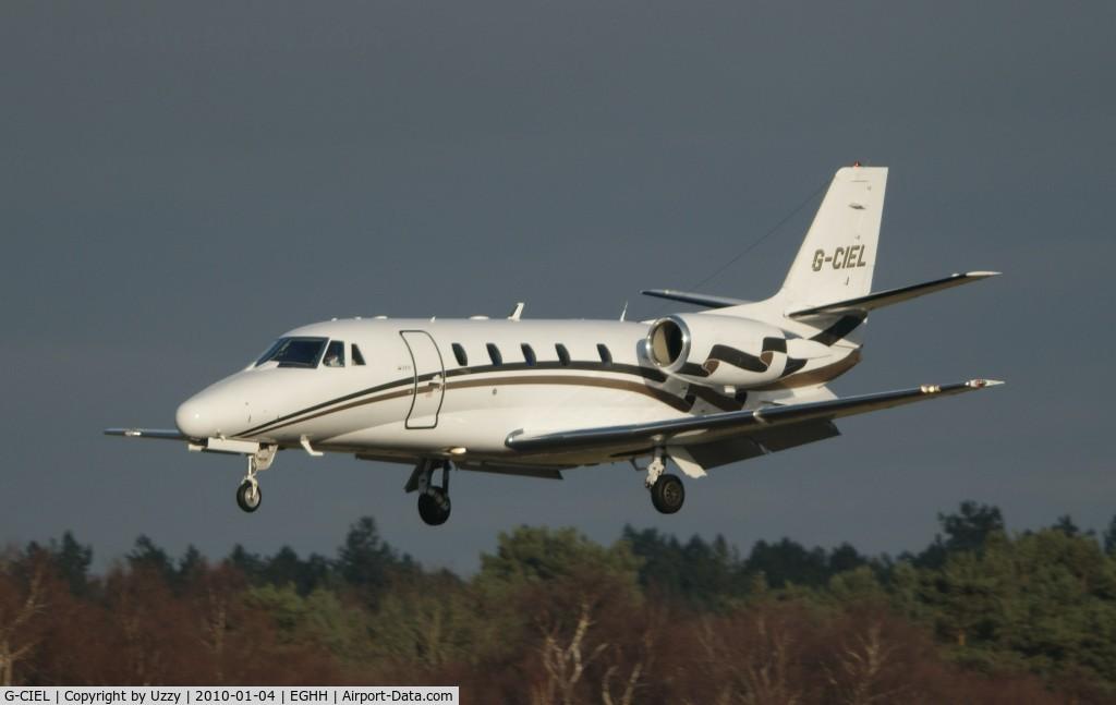 G-CIEL, 2002 Cessna 560XL Citation Excel C/N 560-5247, G-CIEL @ EGHH