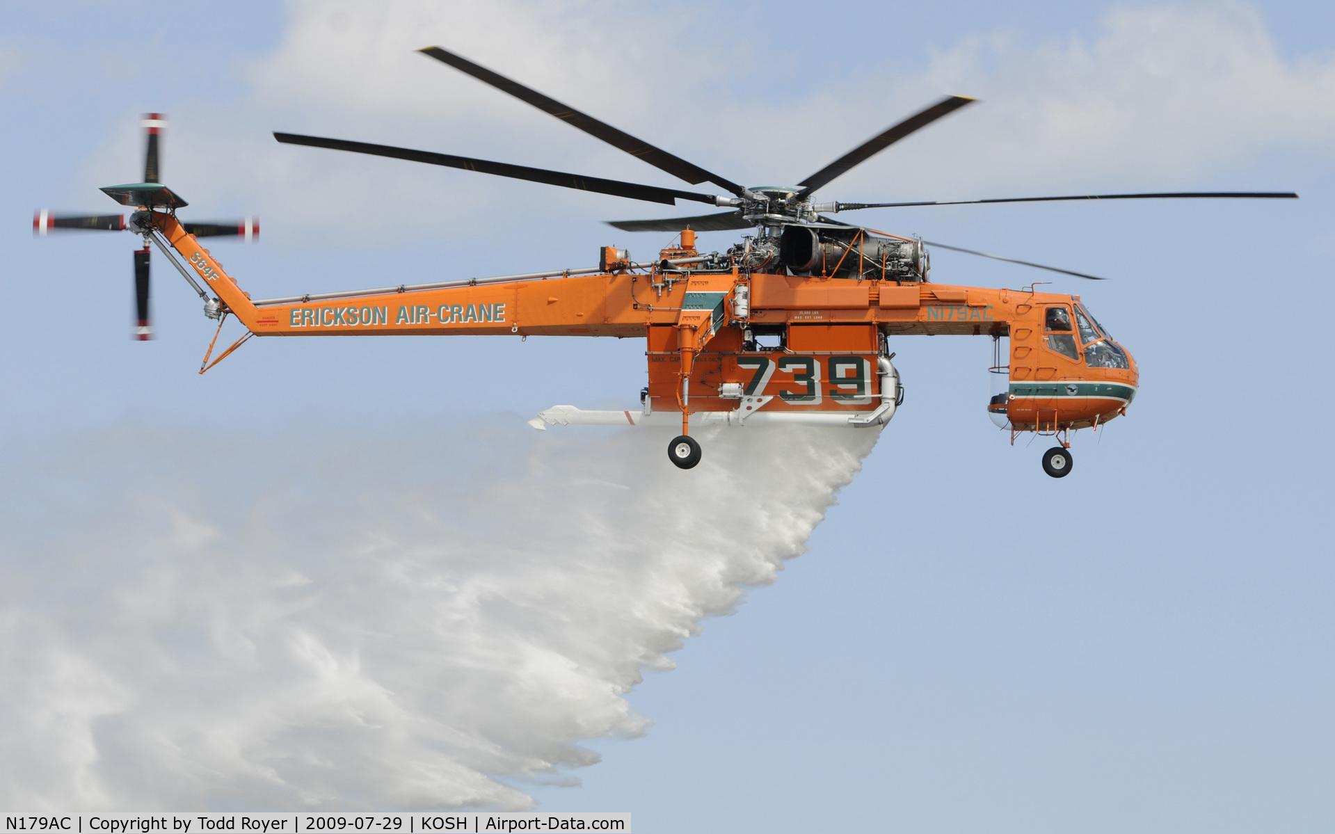 N179AC, 1970 Sikorsky S-64F Skycrane C/N 64091, EAA AIRVENTURE 2009