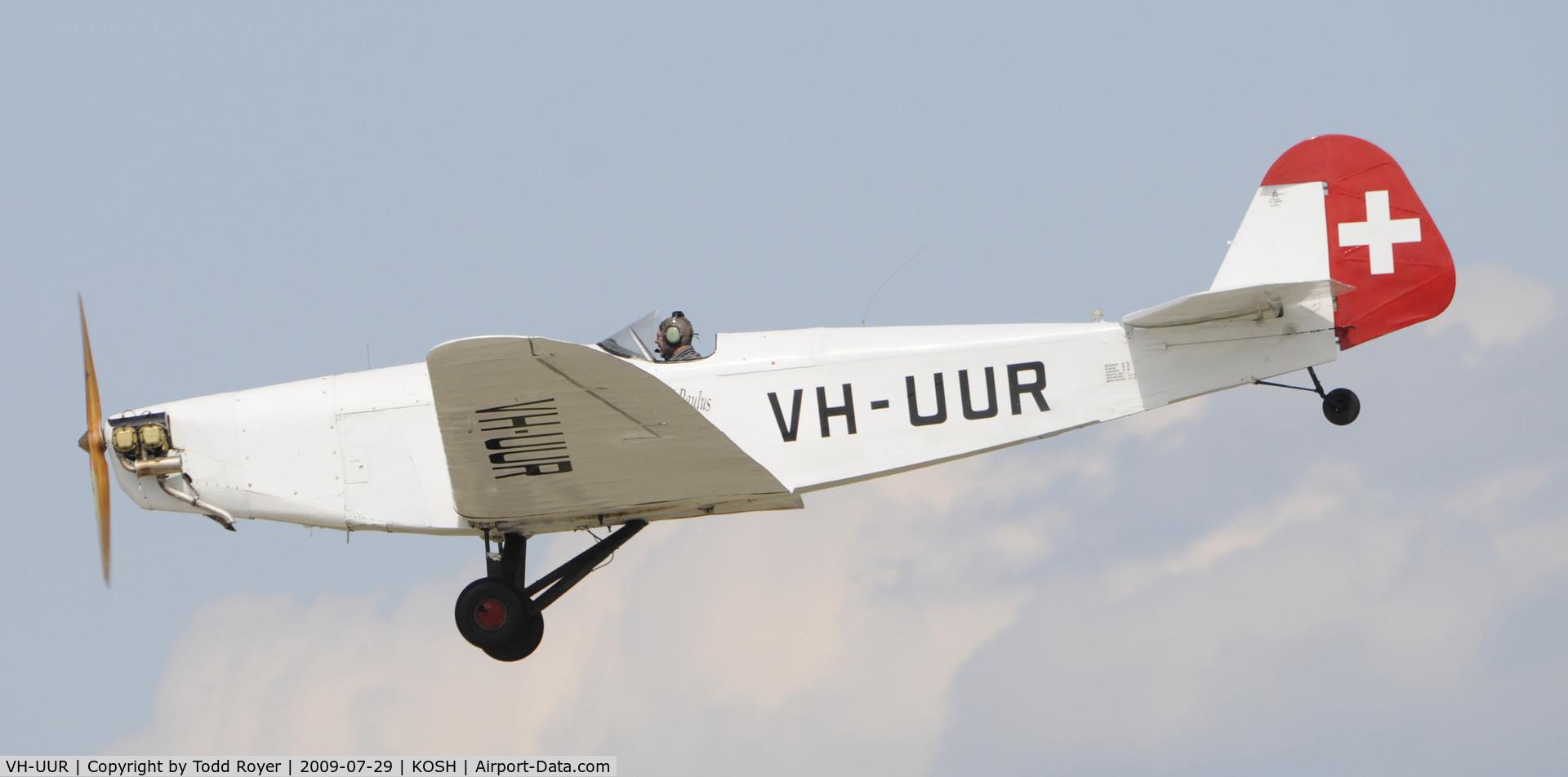 VH-UUR, 1934 Klemm L25-D11 C/N 796, EAA AIRVENTURE 2009