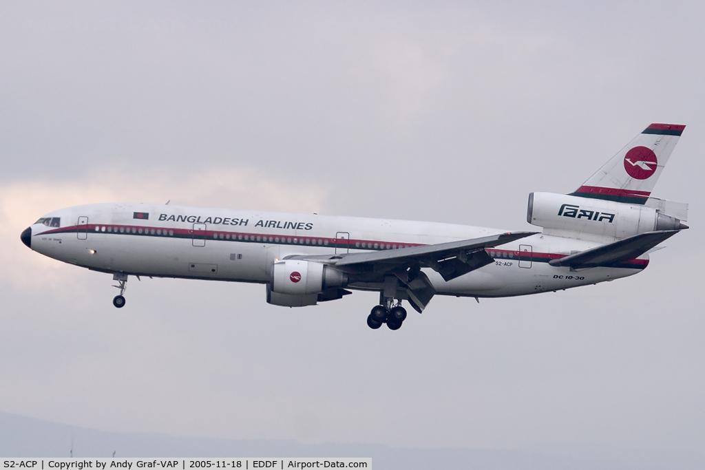 S2-ACP, 1979 McDonnell Douglas DC-10-30 C/N 46995/275, Bangladesh Airlines DC10-30