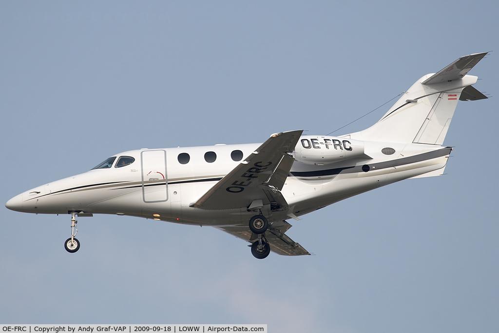 OE-FRC, 2003 Raytheon Aircraft Company 390 Premier 1 C/N RB-57, Raytheon Premier 1