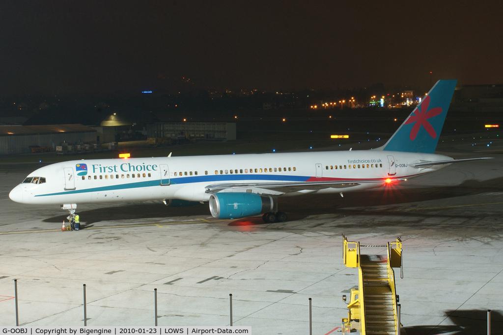 G-OOBJ, 1993 Boeing 757-2B7 C/N 27147, Thomson Airways