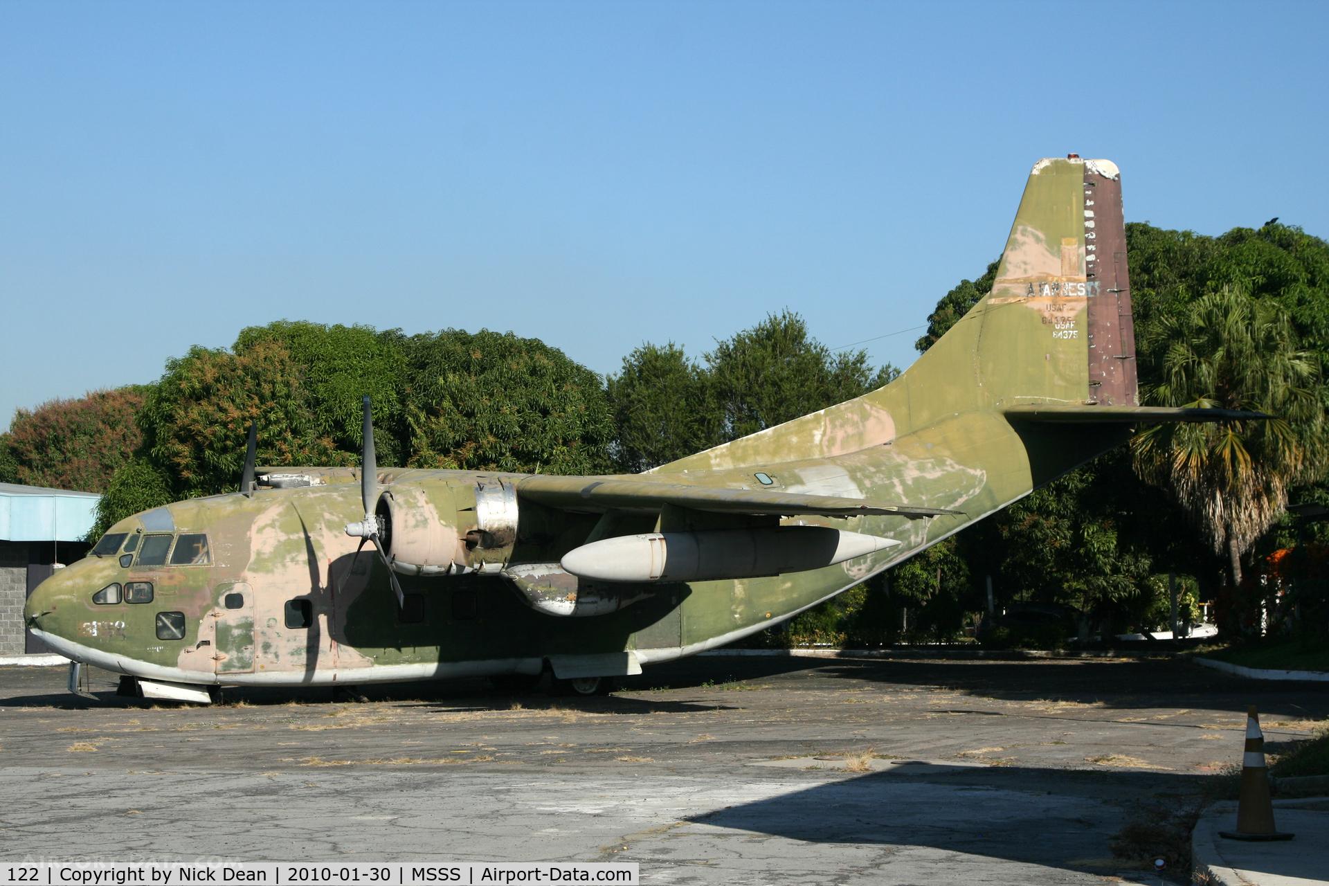 122, 1956 Fairchild UC-123K-FA Provider C/N 20259, MSSS