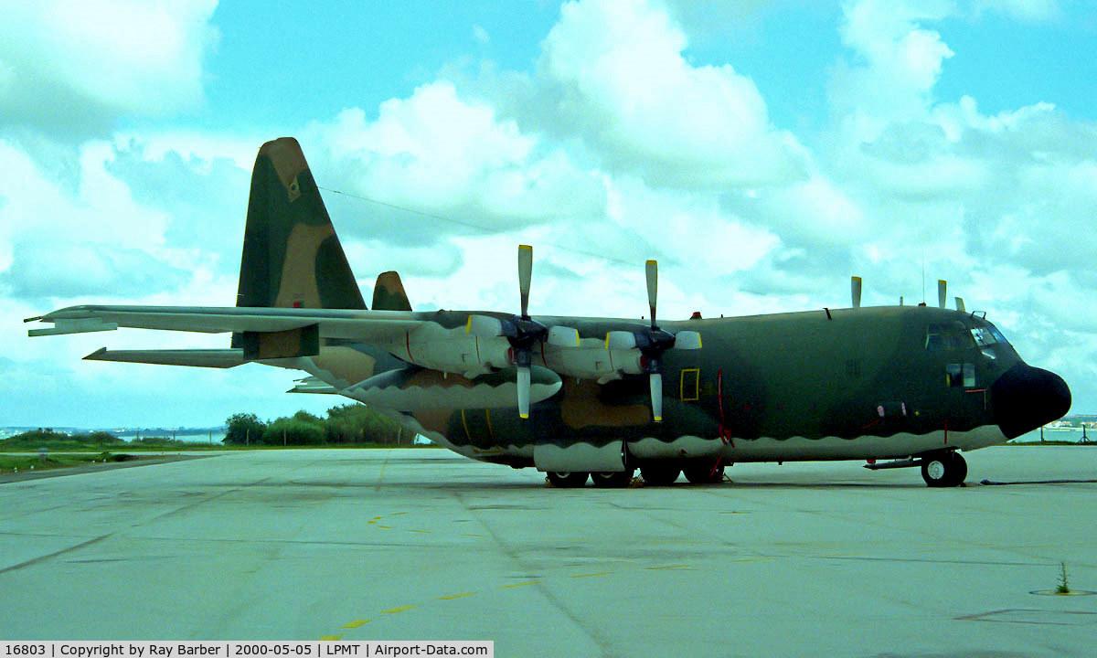 16803, 1978 Lockheed C-130H Hercules C/N 382-4772, Seen at its home base of Montijo.