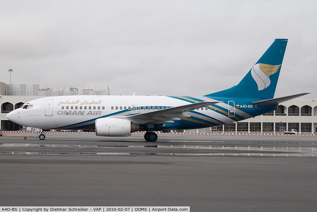 A4O-BS, 2001 Boeing 737-7Q8 C/N 30649, Oman Air Boeing 737-700
