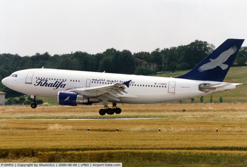 F-OHPU, 1987 Airbus A310-324 C/N 439, Landing rwy 15R