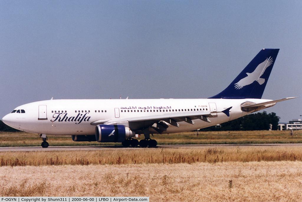 F-OGYN, 1988 Airbus A310-324 C/N 458, Arriving rwy 33L