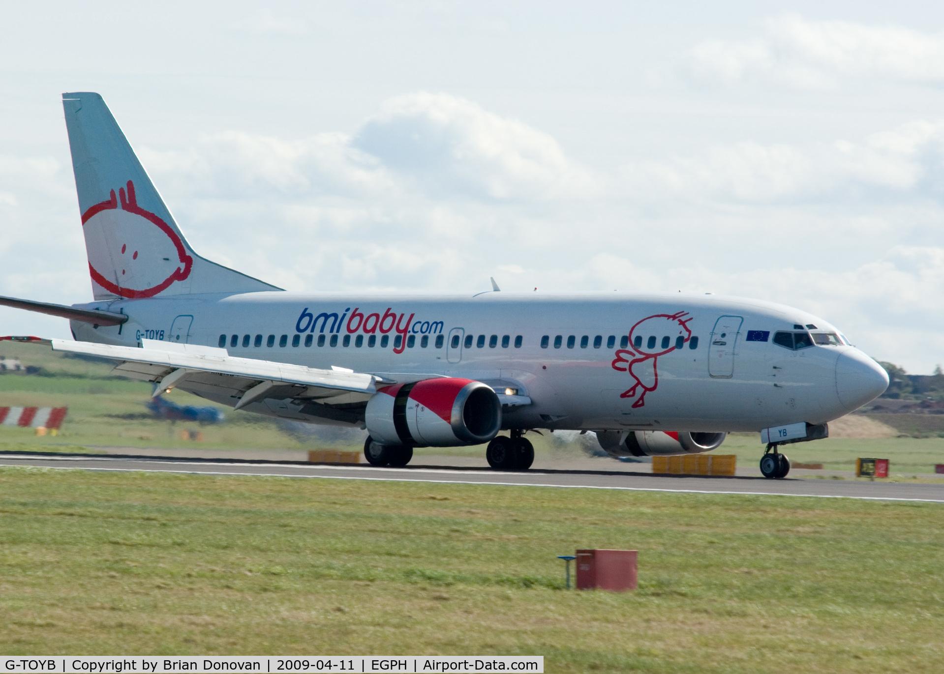 G-TOYB, 1994 Boeing 737-3Q8 C/N 26311, BMI Baby