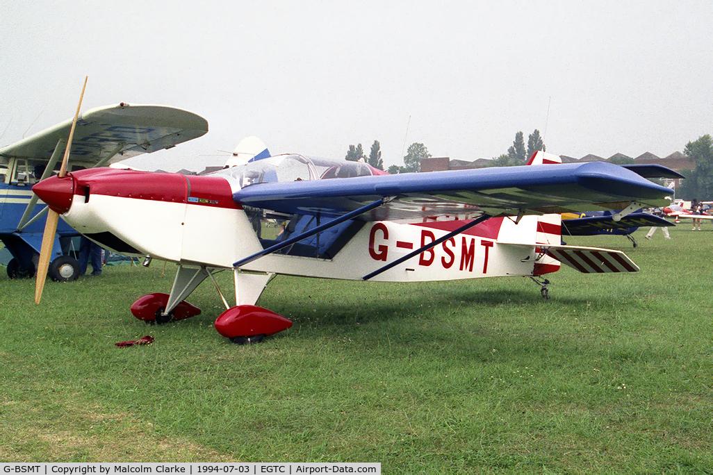 G-BSMT, 1990 Rans S-10 Sakota C/N PFA 194-11793, Rans S-10 Sakota at the PFA Rally, Cranfield in 1994.