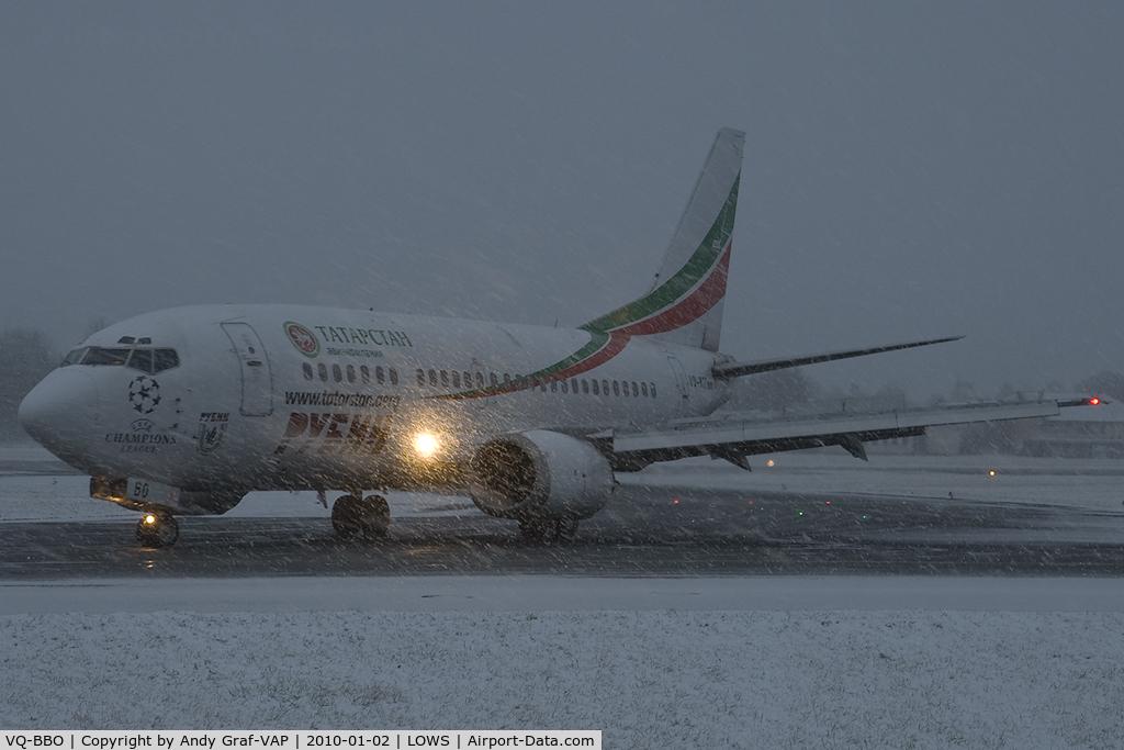VQ-BBO, 1993 Boeing 737-548 C/N 25165, Tatarstan 737-500