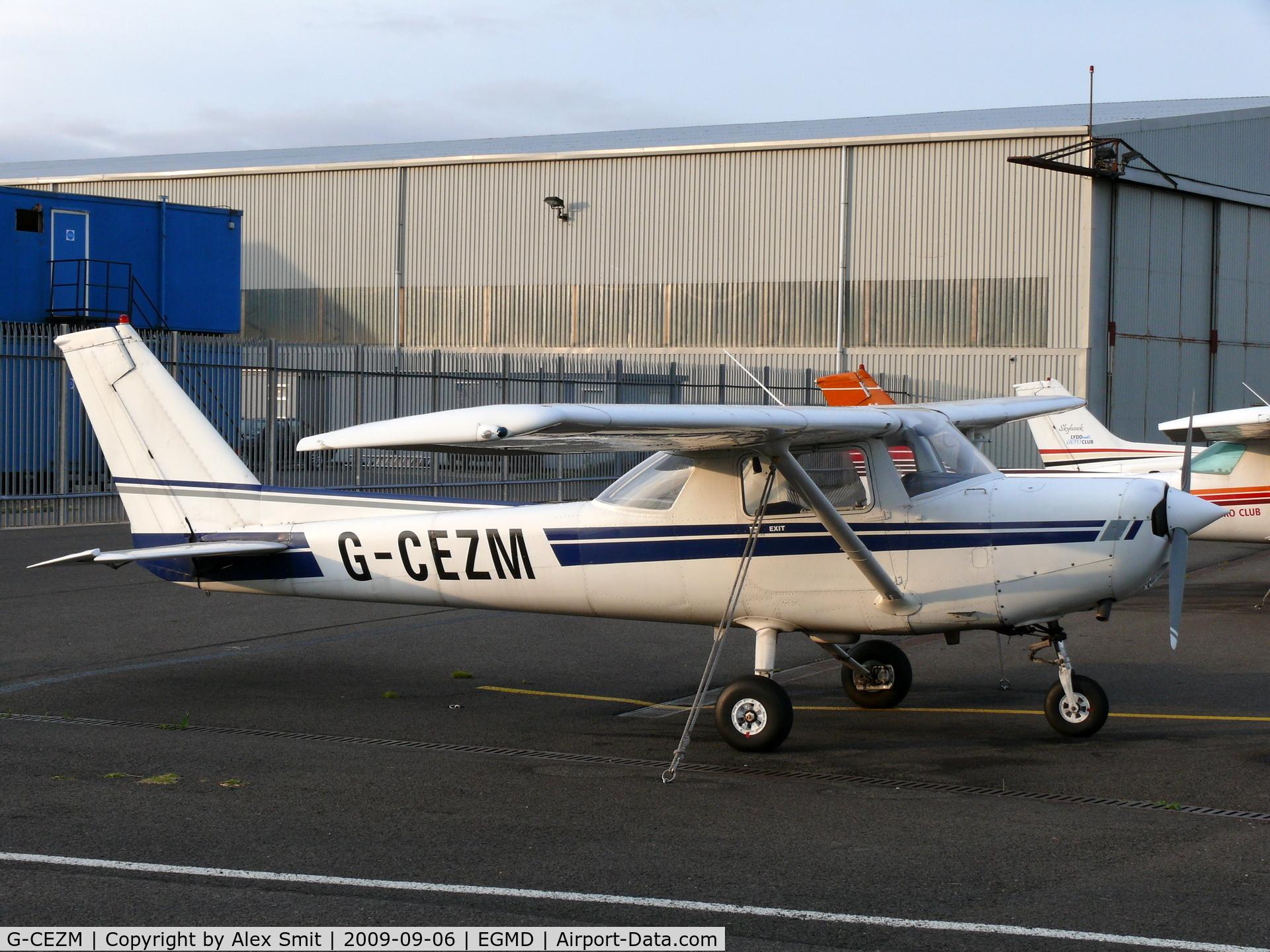 G-CEZM, 1981 Cessna 152 C/N 15285179, Cessna CF152 G-CEZM Chirstal Air Ltd