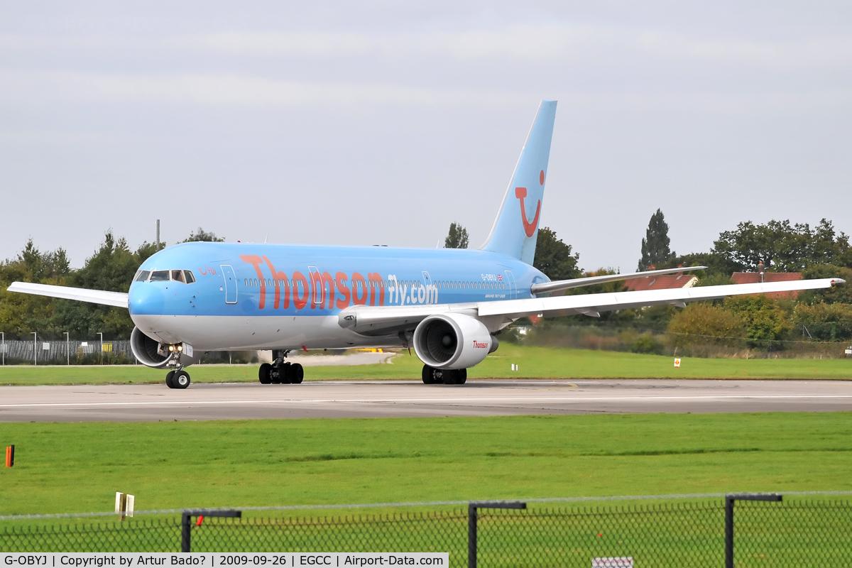 G-OBYJ, 2000 Boeing 767-304 C/N 29384, Thomson