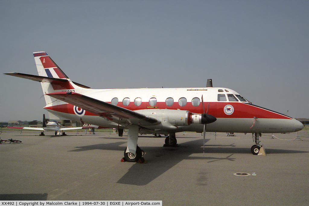 XX492, Scottish Aviation HP-137 Jetstream T1 C/N 274, Scottish Aviation HP-137 Jetstream T1 at RAF Leeming's Air Fair 94.