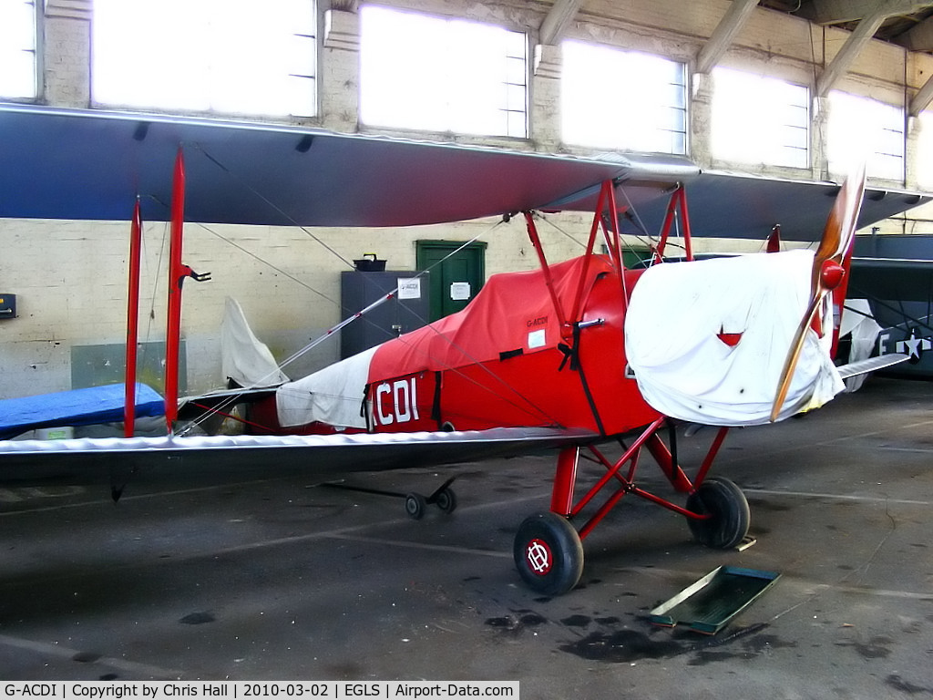 G-ACDI, 1933 De Havilland DH-82A Tiger Moth II C/N 3182, DOUBLECUBE AVIATION LLP