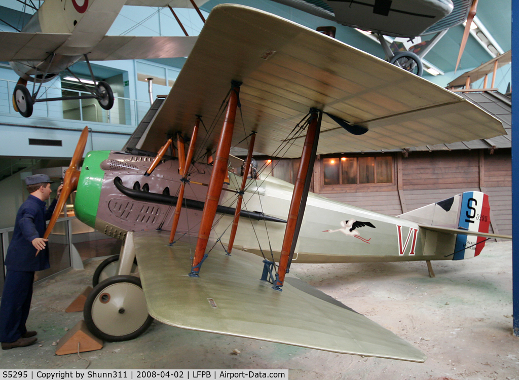 S5295, SPAD S-XIII C1 C/N 15295, SPAD XIII preserved @ Le Bourget Museum