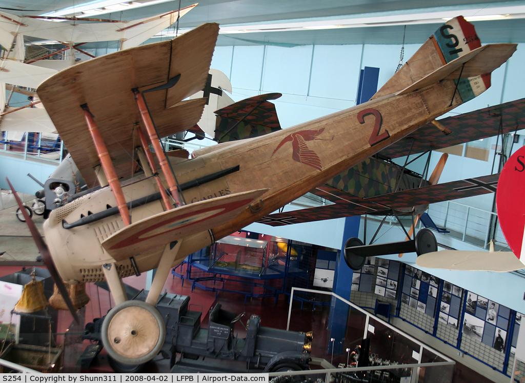 S254, SPAD S-VII C/N 254, SPAD VII preserved @ Le Bourget Museum