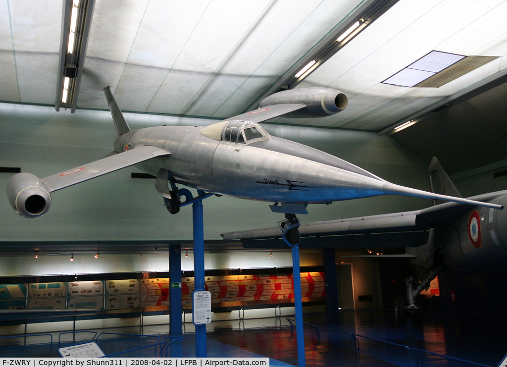 F-ZWRY, SNCASO SO.9000 Trident I C/N 01, SO9000 Trident preserved @ Le Bourget Museum