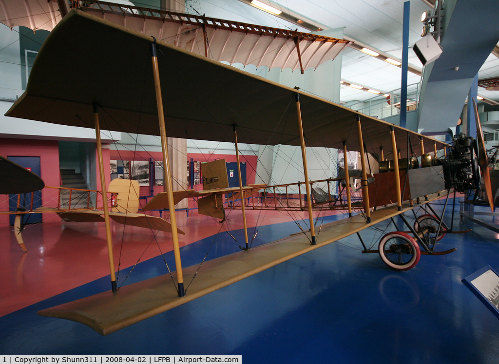 1, Paumier Biplane C/N Not found 1, Paumier Biplan preserved @ Le Bourget Museum