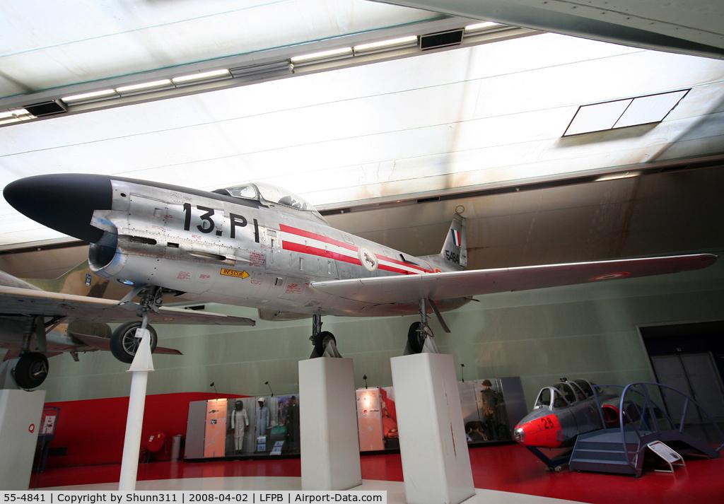 55-4841, 1955 North American F-86K Sabre C/N 221-81, Preserved @ Le Bourget Museum
