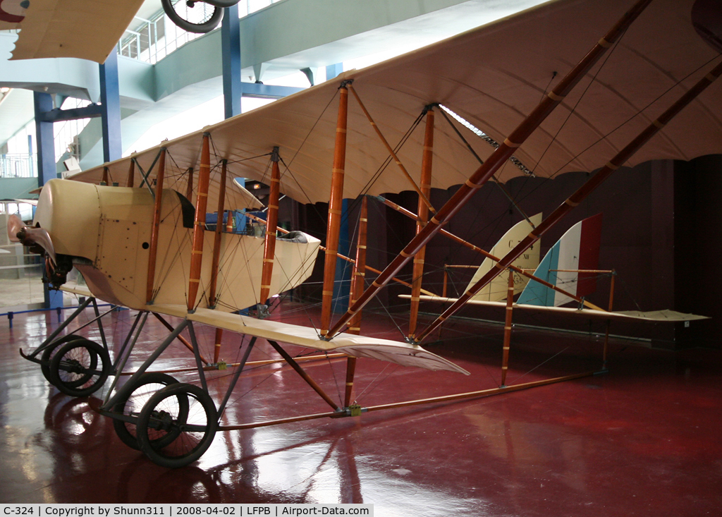 C-324, Caudron G.3 C/N Not found C-324, Caudron G.3 preserved @ Le Bourget Museum