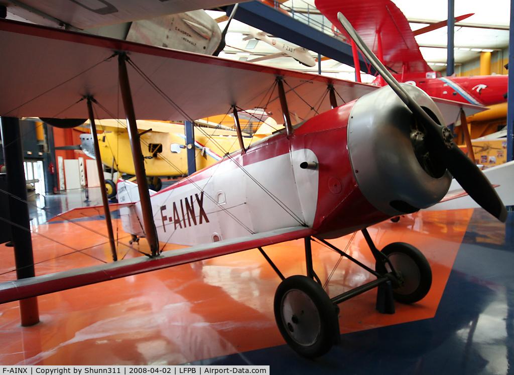F-AINX, Caudron C.60 C/N 6184/49, Preserved @ Le Bourget Museum