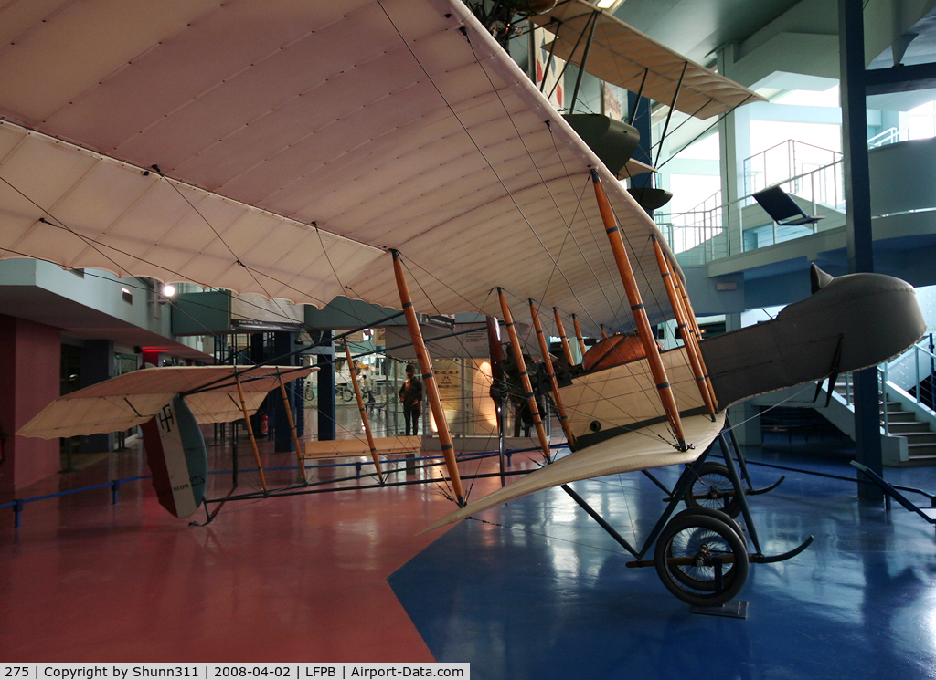 275, Farman HF-20 C/N Not found 275, Farman HF20 preserved @ Le Bourget Museum